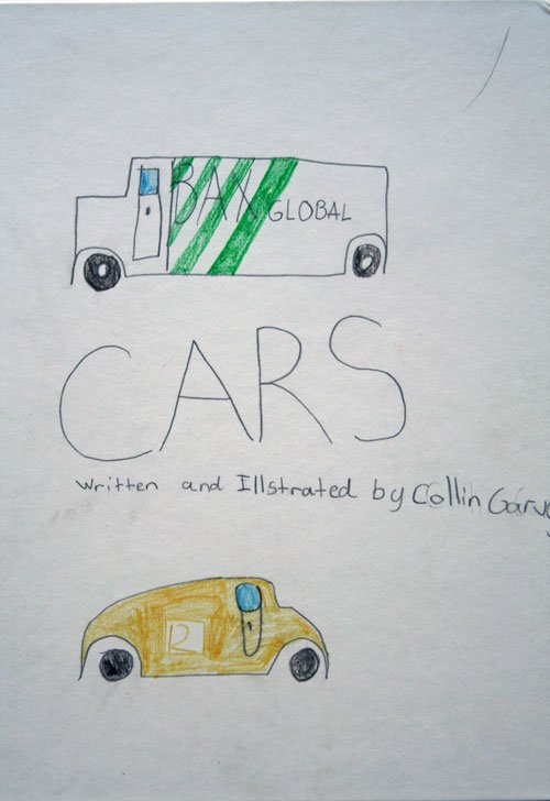 young author book on cars