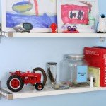 kids display shelves