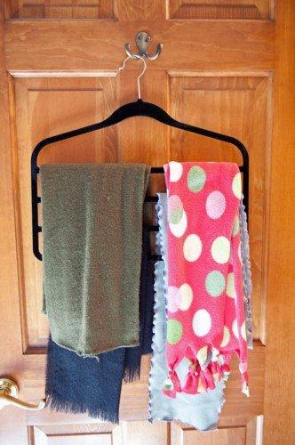 Slack hanger scarves