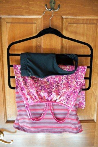 Slack hanger drying rack