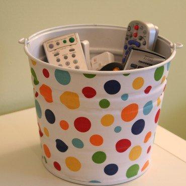 Bucket of remotes