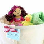 Donate bin
