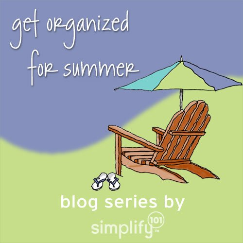 get organized for summer