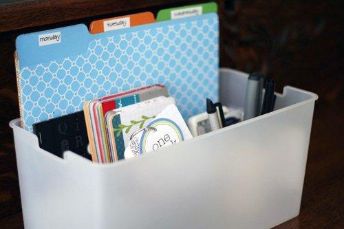itso bin scrapbook storage