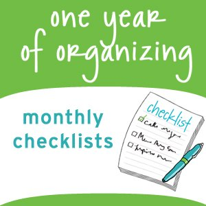Organizing checklists