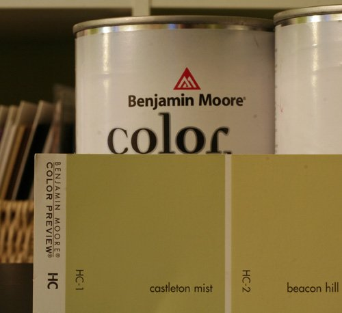 Filling in the blanks for Benjamin moore eco spec paint