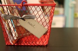 red mail basket