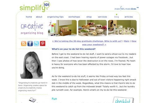 simplify 101 original creativeorganizing blog