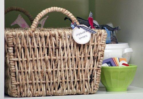 basket green bowl