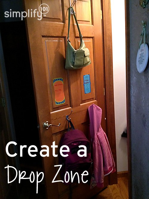 Drop zone - simplify101