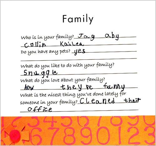family scrapbook