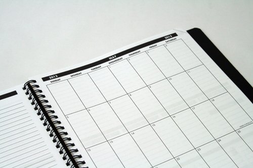 planner pad - month view