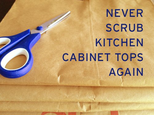 How To Keep Kitchen Cabinet Tops Clean