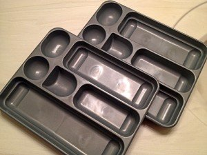 Choose the right sized containers to help organize drawers.