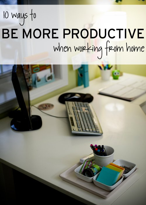 10 Tips to Be More Productive When Working From Home | simplify101.com