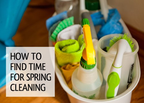find time for spring cleaning via simplify101.com