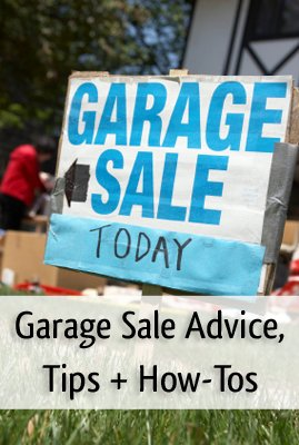 Planning a garage sale this spring? Read this first.