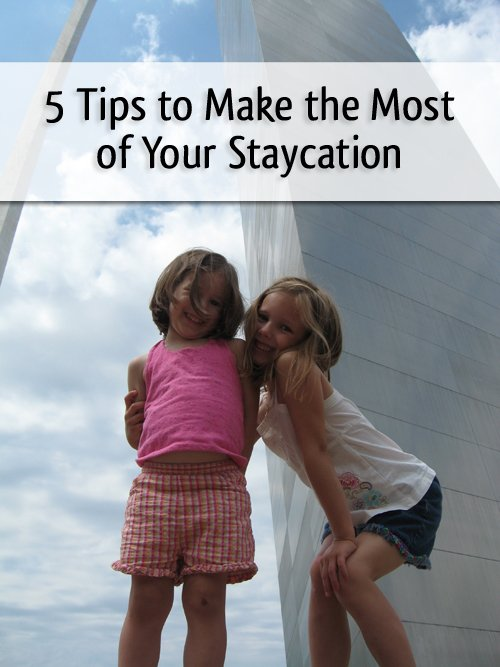 Easy ways to make your staycation feel like a true vacation