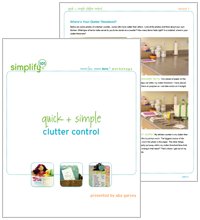 Simple Clutter Control Cover