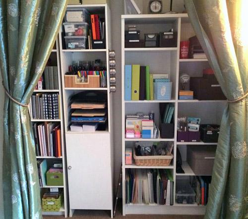 Janine's organized closet