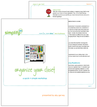Organize Your Closet Online Class Cover