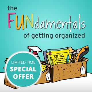 Organize Your Home Special Offer