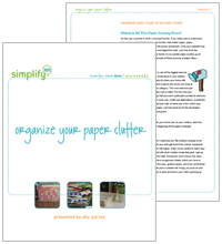 Organize Your Paper Clutter Online Class Cover