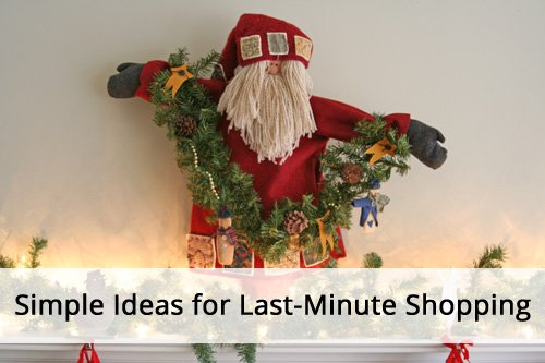 Last-Minute Shopping Ideas from simplify101.com
