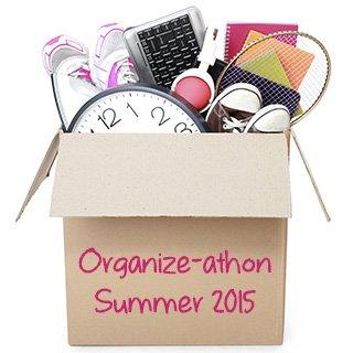 Organize-athon Summer 2015 from simplify101.com
