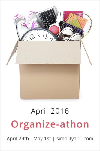 Organize-athon April 2016